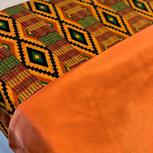 Africa in vibrant Orange