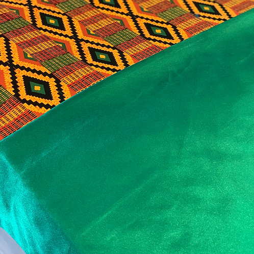 Africa in vibrant Green
