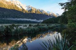 Mirror Lake, Fjordland, NZ