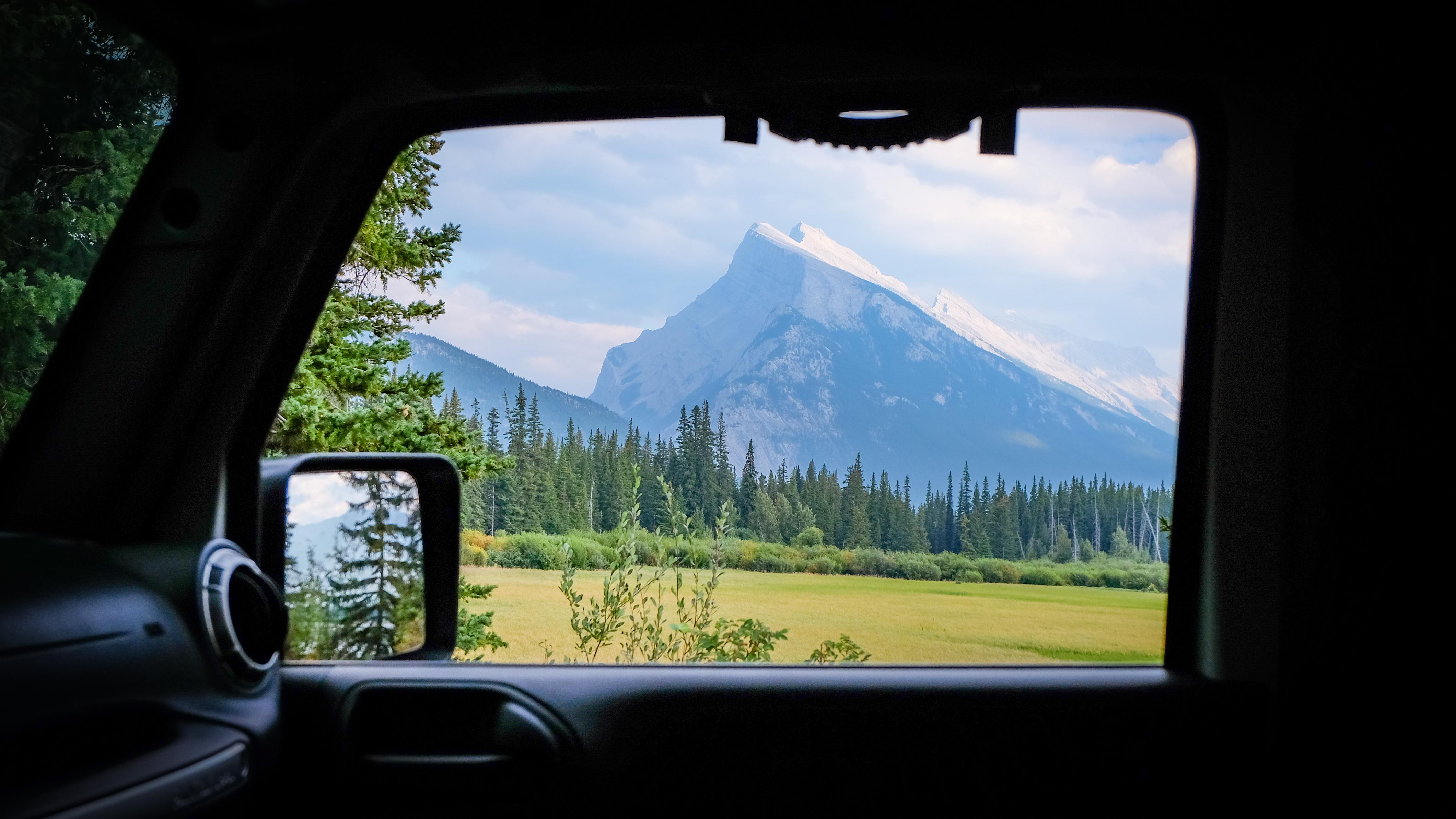 View of Mt. Norquay, Alberta