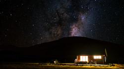 Moonless Sky in Mount Cook
