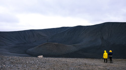 Hverfjall Crater Trail, Iceland