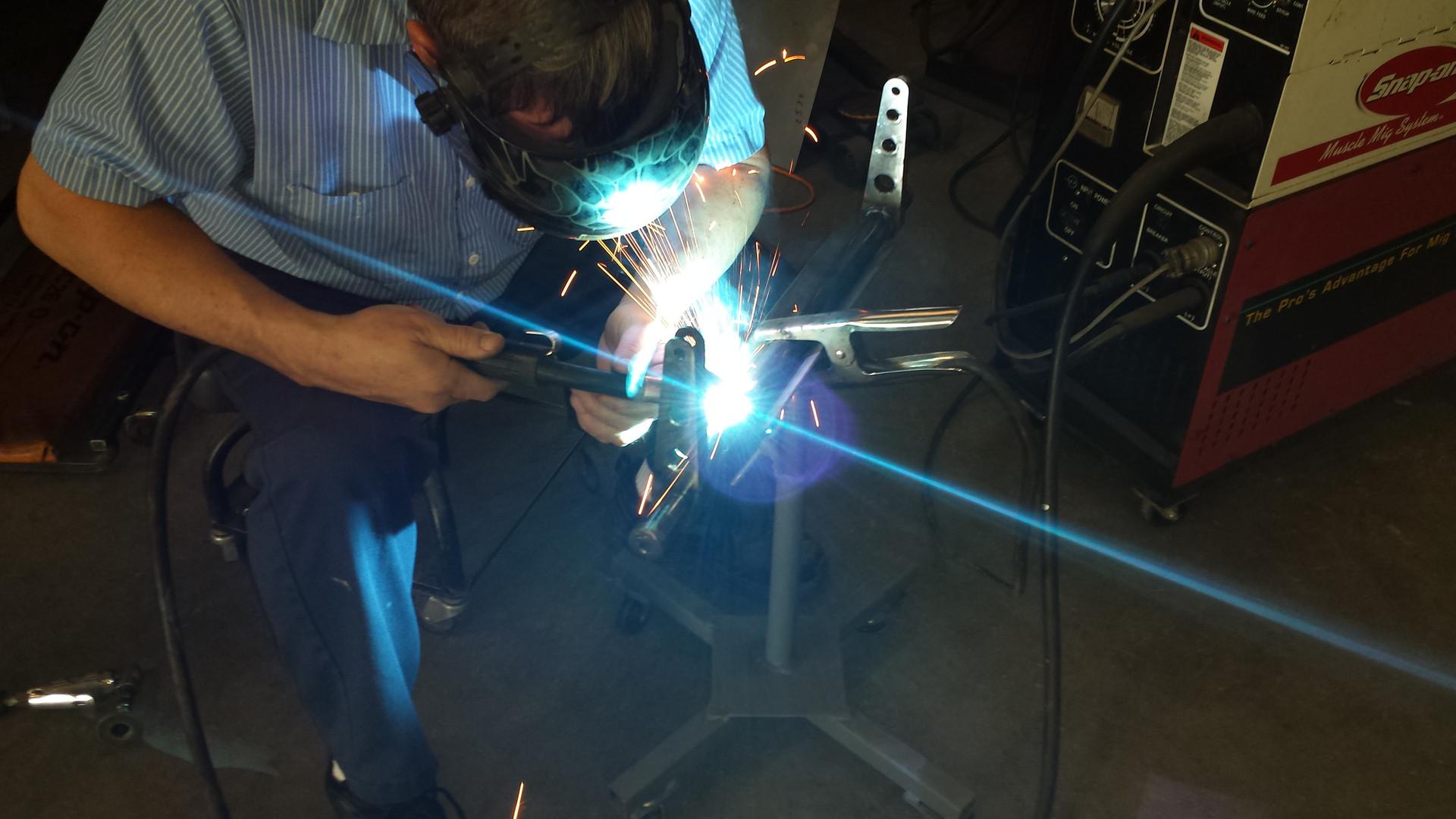 Davidson motorsports welding
