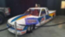 S10 Drag Truck at Auto Fair
