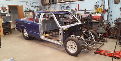 Chevy S10 Drag Truck Build