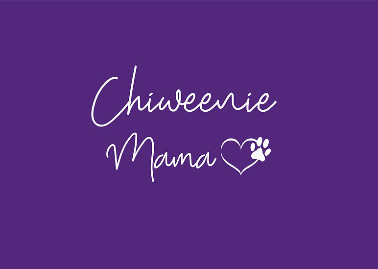 Chiweenie Mama V-neck UniSex Tee