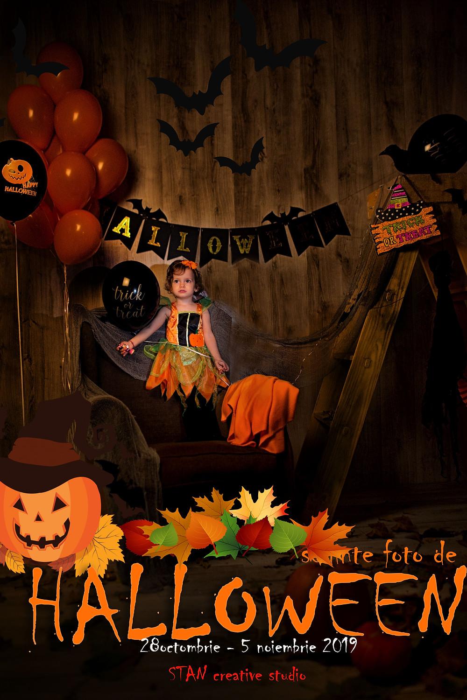 Sedinta foto de halloween
