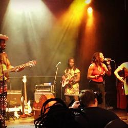 Hier soir au festival nuits d'Afrique