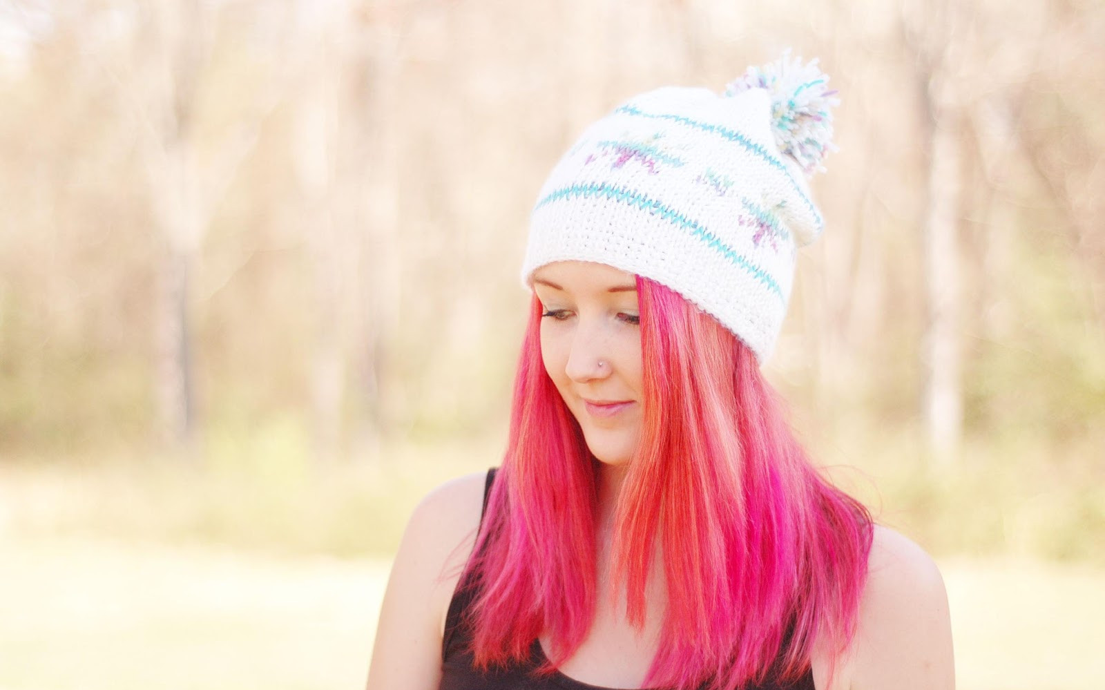I Wish It Would Snowflake Hat is now on my blog!