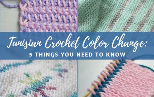 Tunisian Crochet Color Change: 5 Things You Need To Know