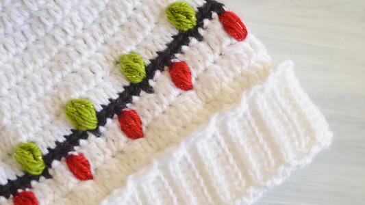 Christmas Vacation Beanie Free Pattern!