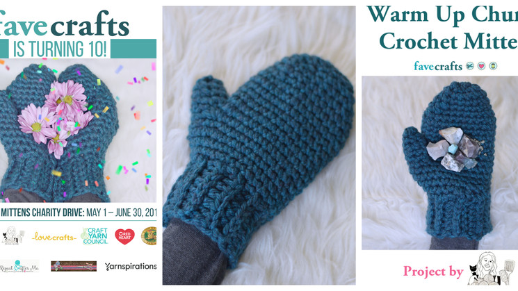 FaveCrafts Charity Drive With Warm Up America