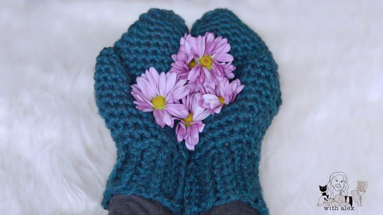 Warm Up Chunky Crochet Mittens