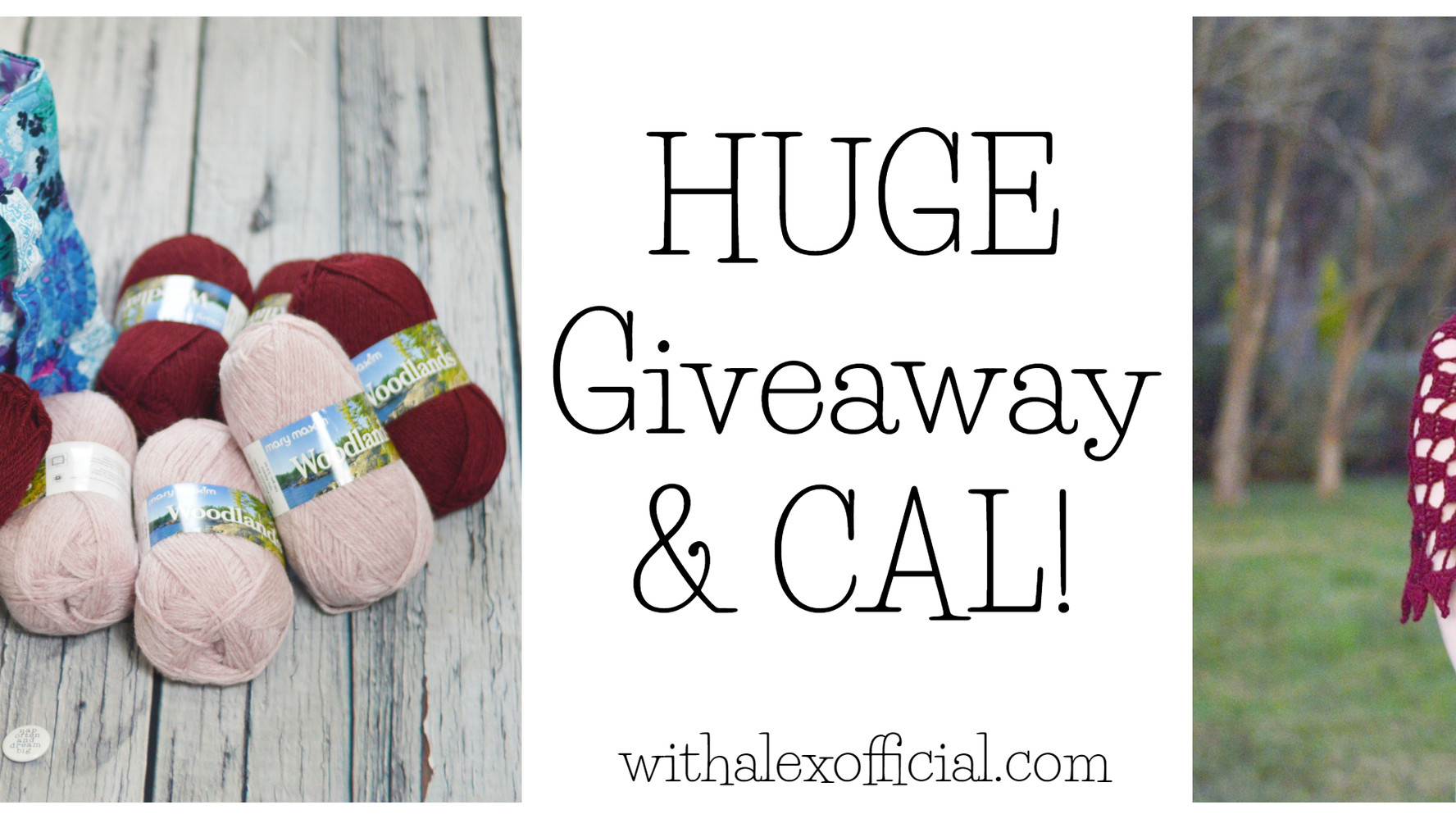 Giveaway & CAL Details!