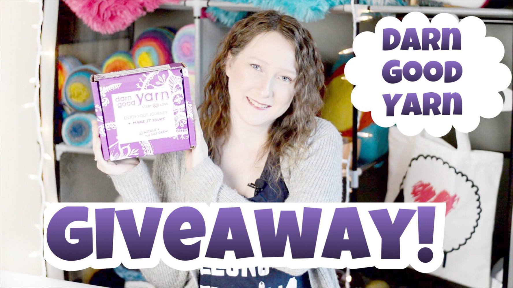 Darn Good Yarn Giveaway & Unboxing