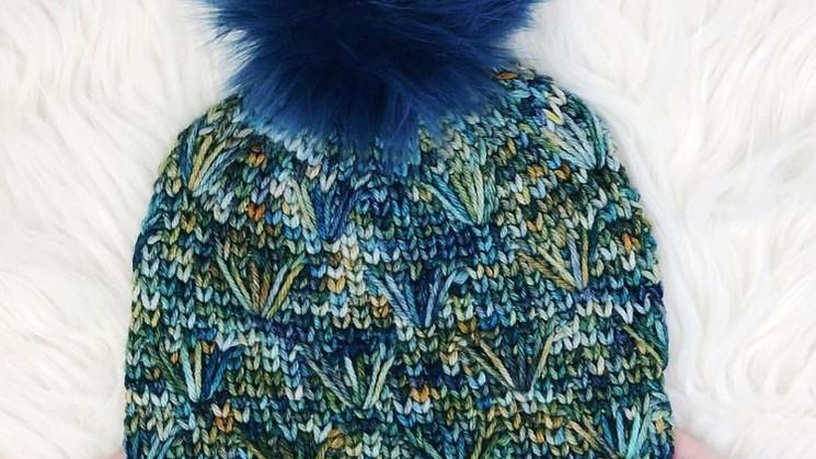 Dandelion Field Beanie Free Crochet Pattern