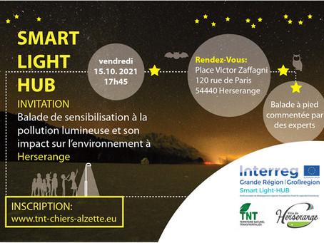 15/10/21 - Herserange (FR) - Balade de sensibilisation à la pollution lumineuse