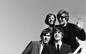 The Beatles throwback...