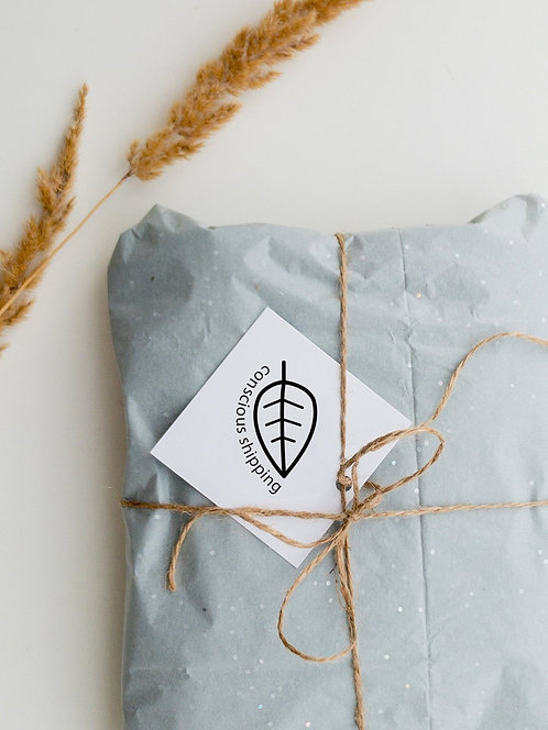 Concious Shipping Eco Friendly Shipping Stamp