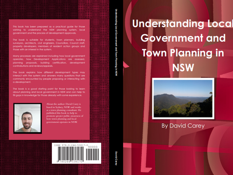 Book released - Understanding Local Government and Town Planning in NSW