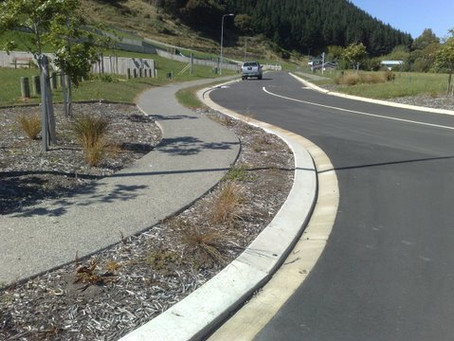 Constructing a road and dedicating to Council - the process