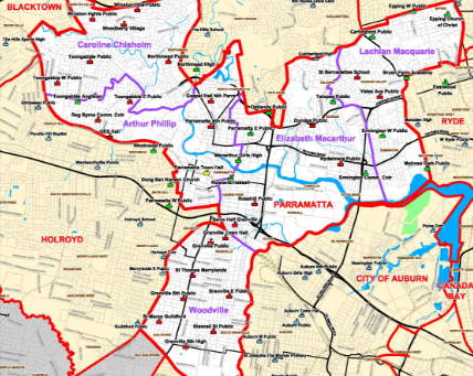 Councils in NSW and recent mergers