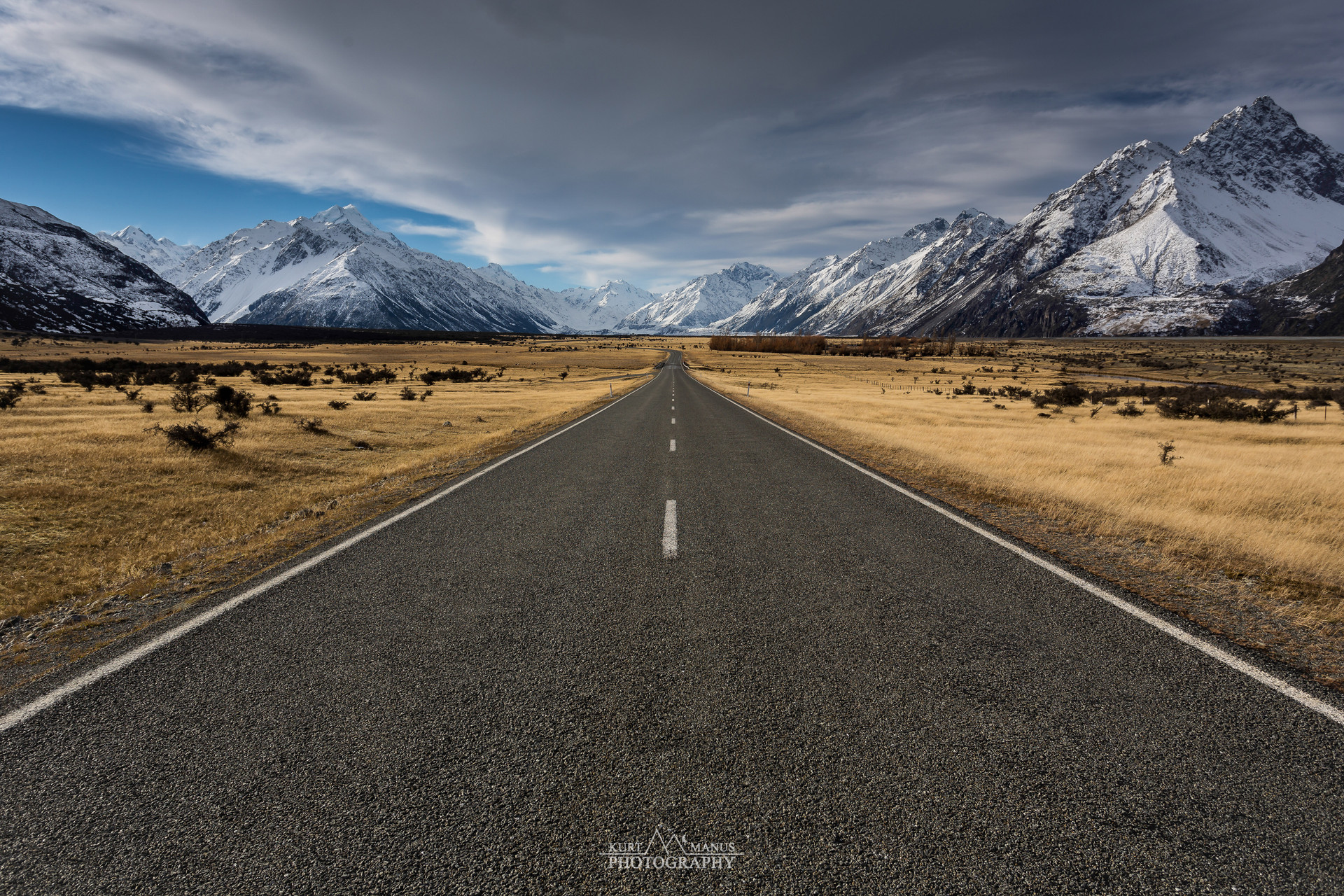 Road to Mt Cook (1)