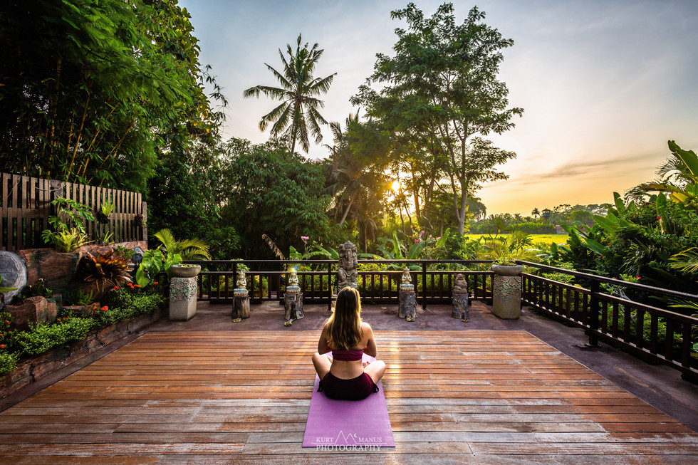 Yoga in Ubud - Bali