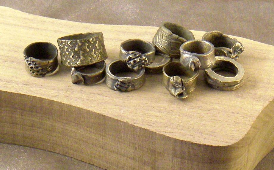 Bronze rings