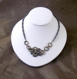 Bronze necklace w/ beads