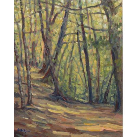 7.Path near Chapel Lake, Pictured Rocks