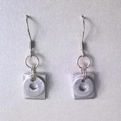 Mixed metal earrings  $15