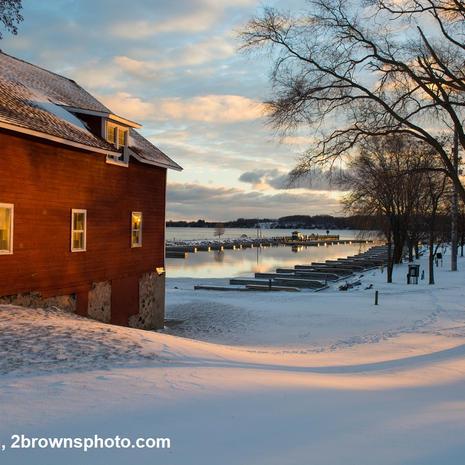 Winter Sunrise at Suttons Bay- Kris Brown