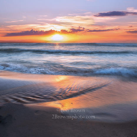 Sunset at Porter Creek - Bob Brown
