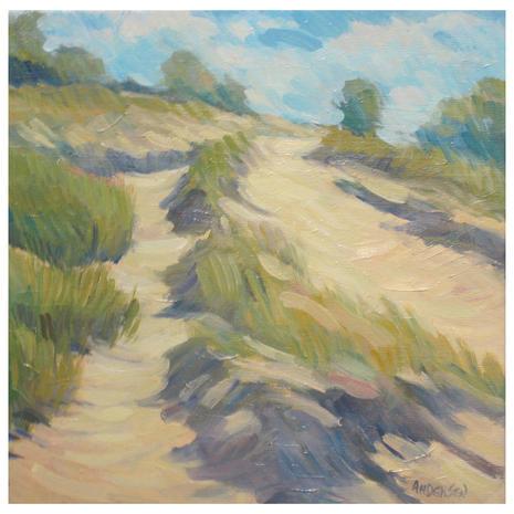 10.Shoreline Path no. 4 , oil, 12x12