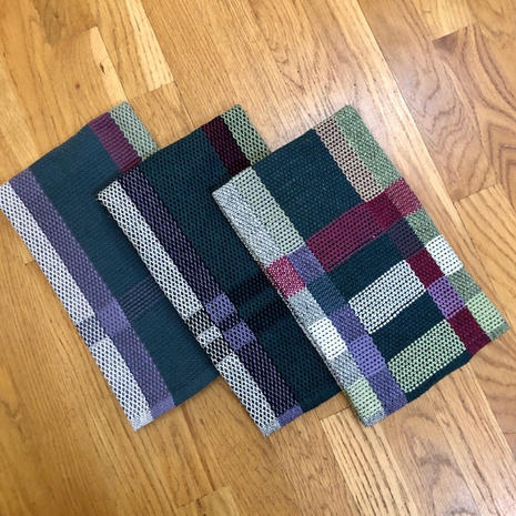 """Kitchen towels - 100% cotton, approximately 19""""x25"""", $30"""