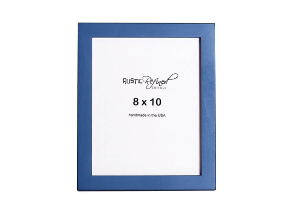 "8x10 1"" Gallery Picture Frame - Colonial Blue"