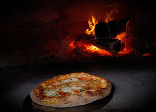 Wood fired pizza, pizza, stone ground flour, wood fired oven