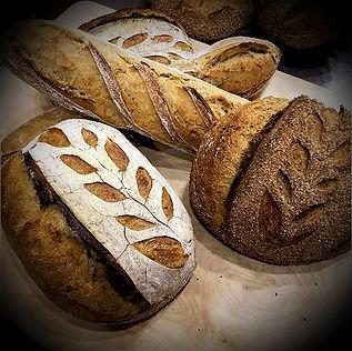 Artisan Bread, Sourdough, Boule, Baguette, Stone-Milled Flour