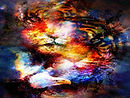 076294389-magical-space-tiger-and-eagle-