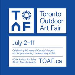 Toronto Outdoor Art Fair 2021 #TOAF60