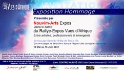 Invitation Expo Hommage