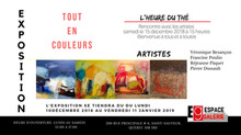 """Dernière semaine Expo """"Tout en couleurs"""""""