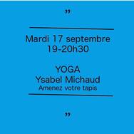 """Yoga  """"Le coeur du monde"""""""