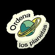 ¿Sabés en qué orden van los planetas?