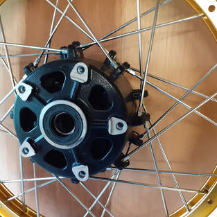 Suzuki V-Strom Wheel