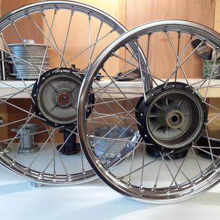 Yamaha DT175 Wheels