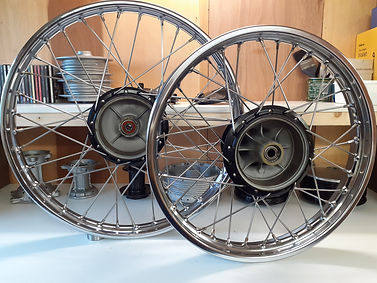 Motorcycle Wheel Building UK