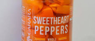 Carara Gourmet Whole Sweetheart Peppers