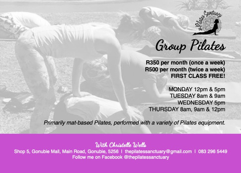 20190909 The Pilates Sanctuary - Flyer A